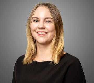 team member Sarah Farrell
